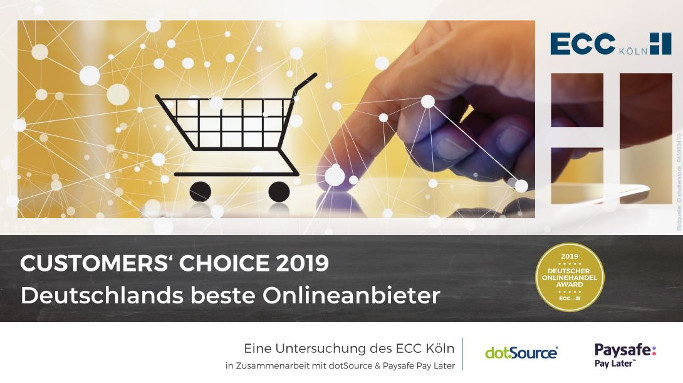 Customers Choice 2019 ECC Studie Dotsource